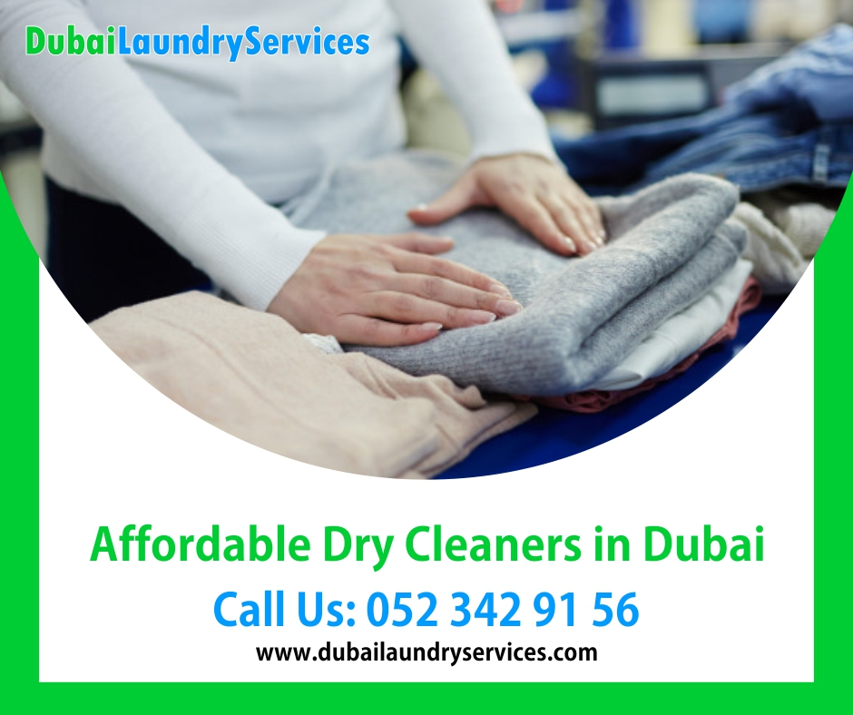 Affordable Dry Cleaners in Dubai